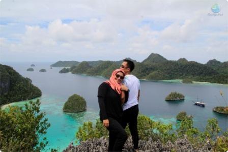 paket wisata raja ampat pianemo kabui wayag murah romantis honeymoon